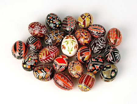 easter eggs pictures. Pysanky: Ukrainian Easter Eggs